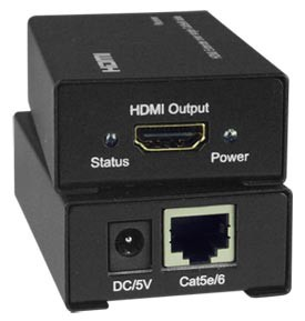 Low-Cost HDMI Extender via One CAT5e/6: Extend up to 150 feet. AS/NZS 3112
