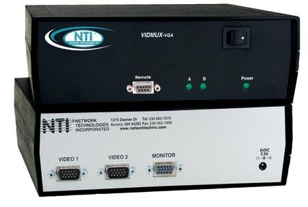 VIDMUX® SE-15V-2-2C1U-TTL (Front & Back)