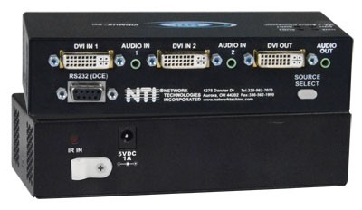 VIDMUX® SE-DVI-2ARS (Front & Back)