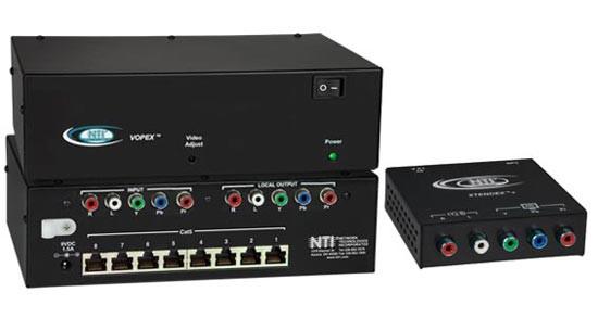VOPEX-C5CMPSA-8 (Front & Back) and ST-C5CMPSA-R-600 Remote Unit